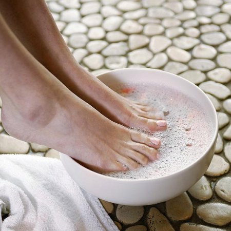 Солевые повязки для лечения грибка ногтей